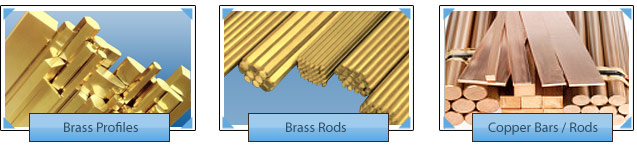 Brass Extrusions Rods Brass Rods Brass Profiles Copper Rods